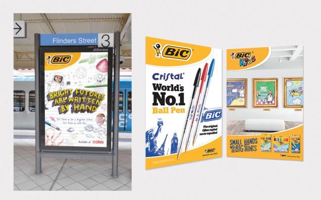 5. BIC Advertising main slide